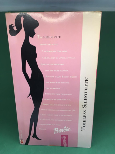 barbie timeless silhouette 2000 special edition gala