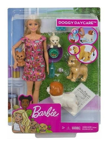 barbie treinadora de cachorro - fxh08 mattel