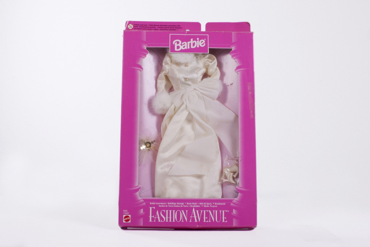 Barbie Vestido De Novia Colección Fashion Avenue - 1997 - Bs. 30.000 ...