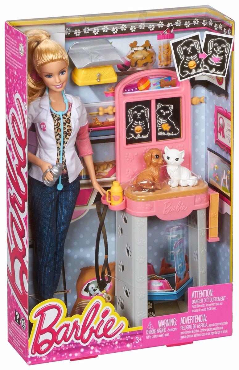 Barbie Veterin 225 Ria Quero Ser Acess 243 Rios Mattel