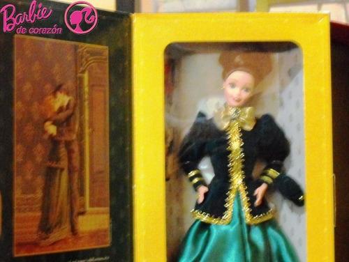 barbie victoriana de colección - entrega inmediata