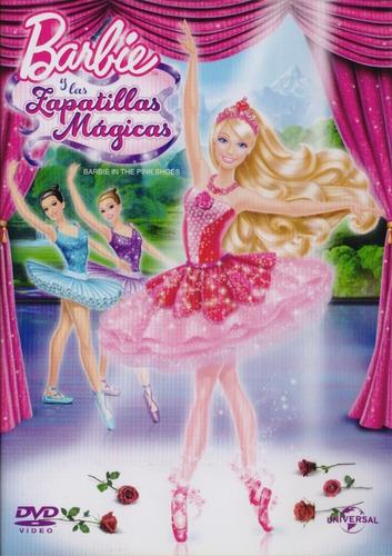 barbie y las zapatillas magicas pelicula original dvd