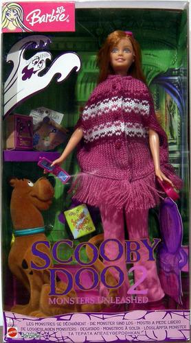 barbie y scooby doo de colección figuras nuevas