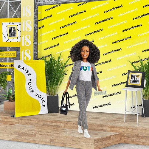 barbie yara shahidi shero negra inspiring women collector