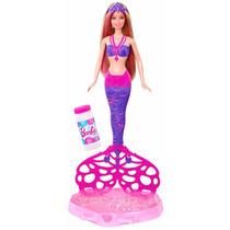 Barbie Sirena Burbujas Magicas Original De Mattel