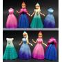 Frozen Set 2 Muñecas Magic Clip
