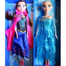 Muñeca Frozen Elsa Y Anna Canta Musica Juguetes Niña Barbie