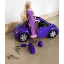 Barbie Con Carro