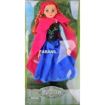 Muñeca Frozen Anna 30cm Articulada Juguetes Niña Barbie