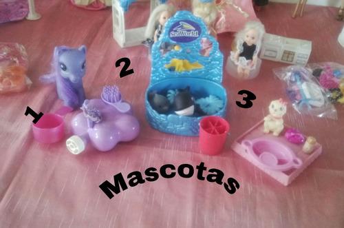 barbies originales,bebes,mascotas y accesorios oferta