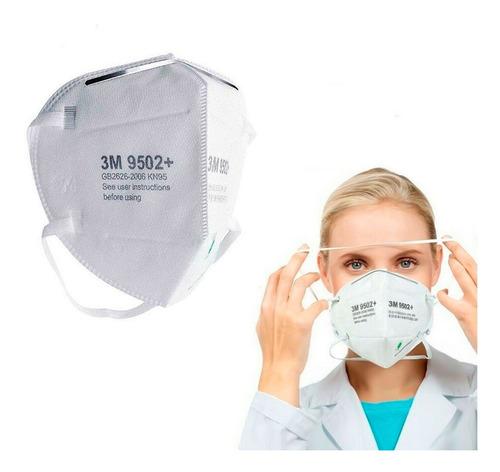 barbijo 3m pack x 10 mascara protector facial cubre tapaboca