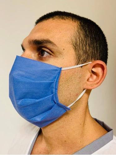 barbijo anmat elastico antibacterial descartable sms 50u