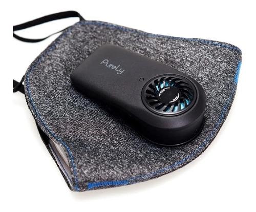barbijo electrónico purely by xiaomi cooler usb recarga kn