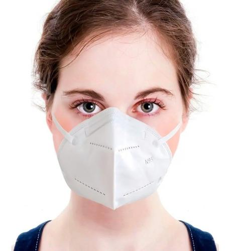 barbijo mascara protector tapa boca 95% anmat x10 unidades