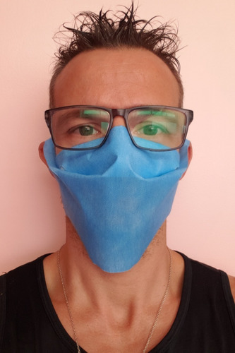barbijo reutilizable proteccion cubre boca mascara