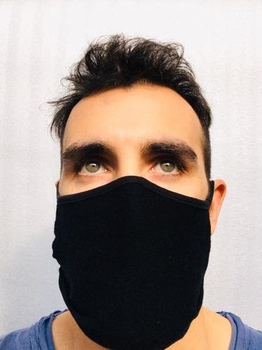 barbijo tapa boca nariz lavable re utilizable x 10 unidades