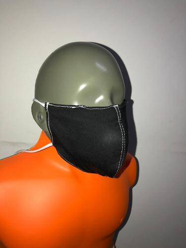 barbijo tapa boca re utilizable bolsillo de filtro x10un