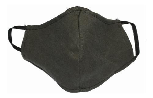barbijo tapaboca lavable bolsillo filtro reversible doble
