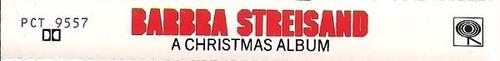 barbra streisand a christmas album cass 1ra edicion 1967 usa
