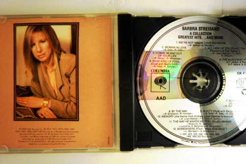 barbra streisand.  cd