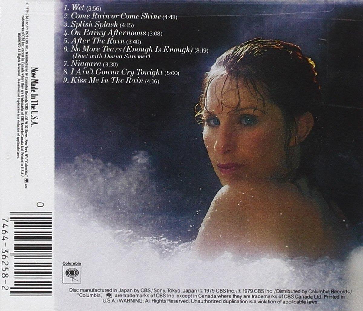 Barbra Streisand Cd Wet U s a Inc Dueto Donna Summer