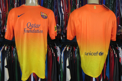 barcelona 2012 camisa reserva tamanho g.