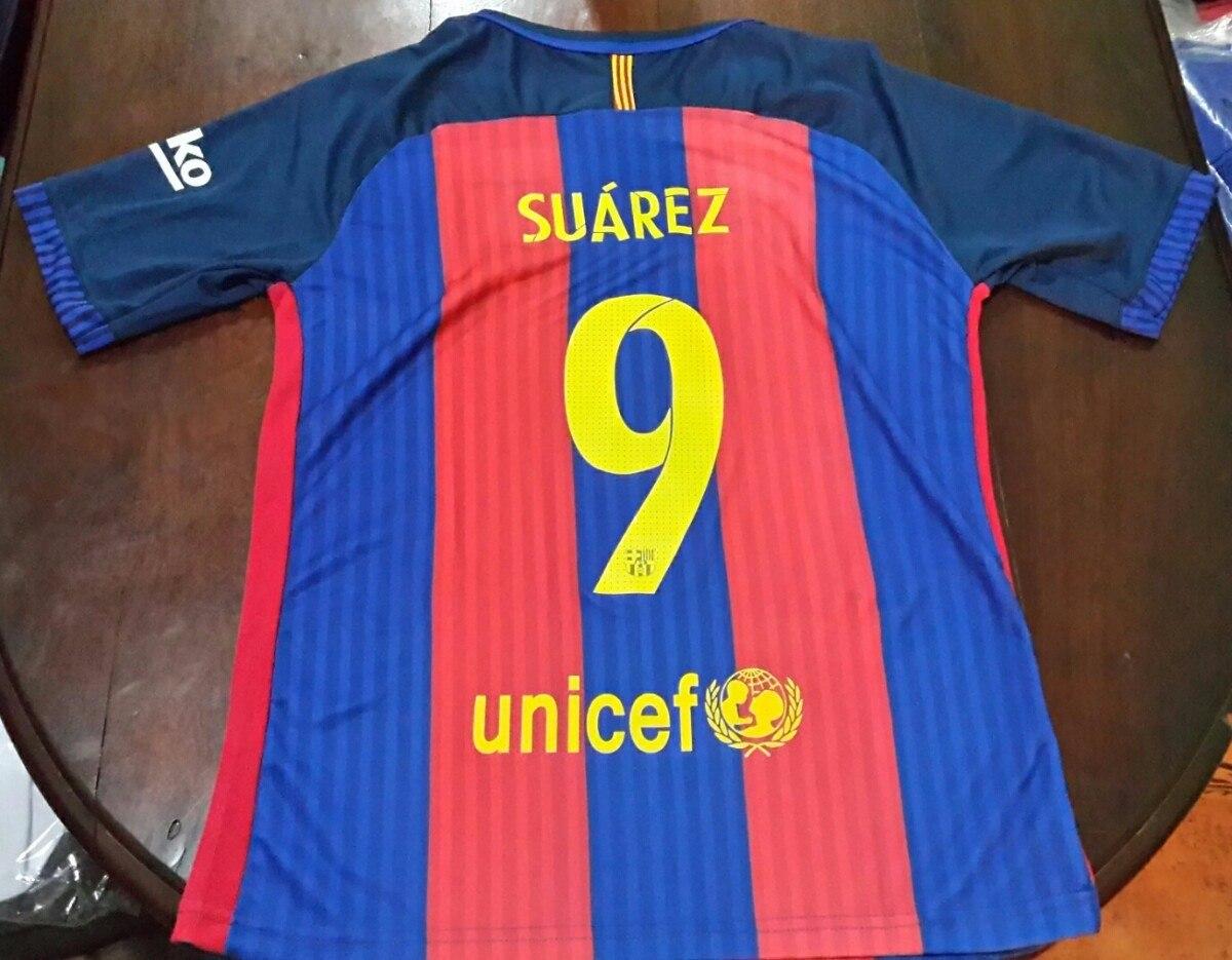 dc561adf299b6 Camiseta Barcelona 2016 2017 Messi Neymar O Personalizada ...