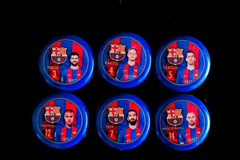e2b8c6c24d barcelona 2016 17 futebol de botão 12 jogadores. Carregando zoom.