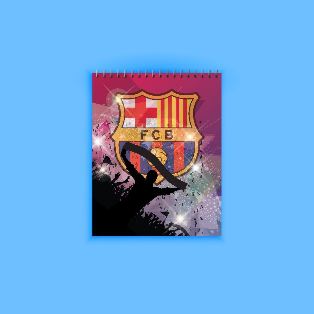 Barcelona Fccuaderno Dibujo Y Artes Material Artes115gr