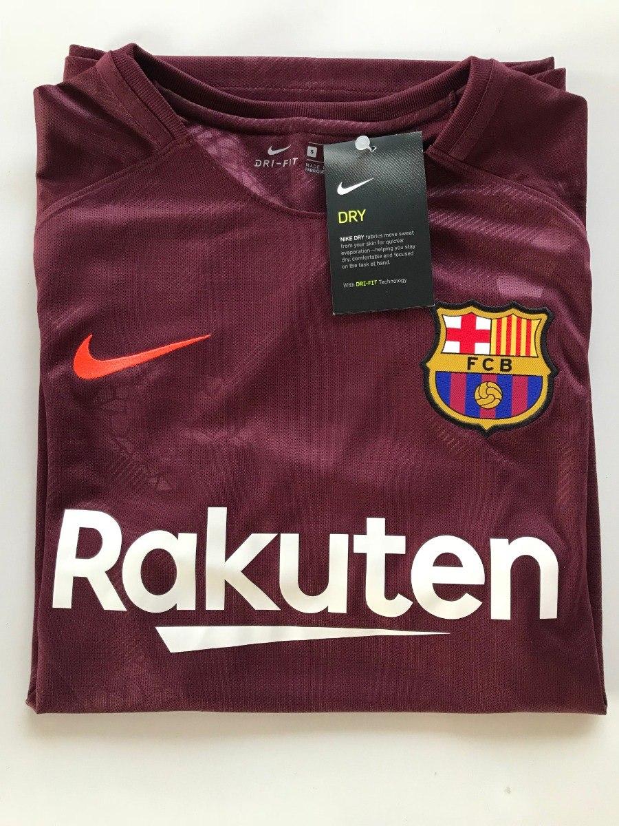 Carregando zoom... camisa nike barcelona 2017 2018 roxo modelo torcedor  futebol c439e92bf251d