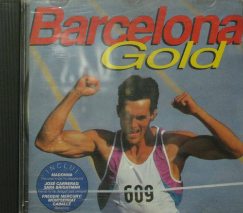 barcelona gold cd freddie mercury eric clapton madonna