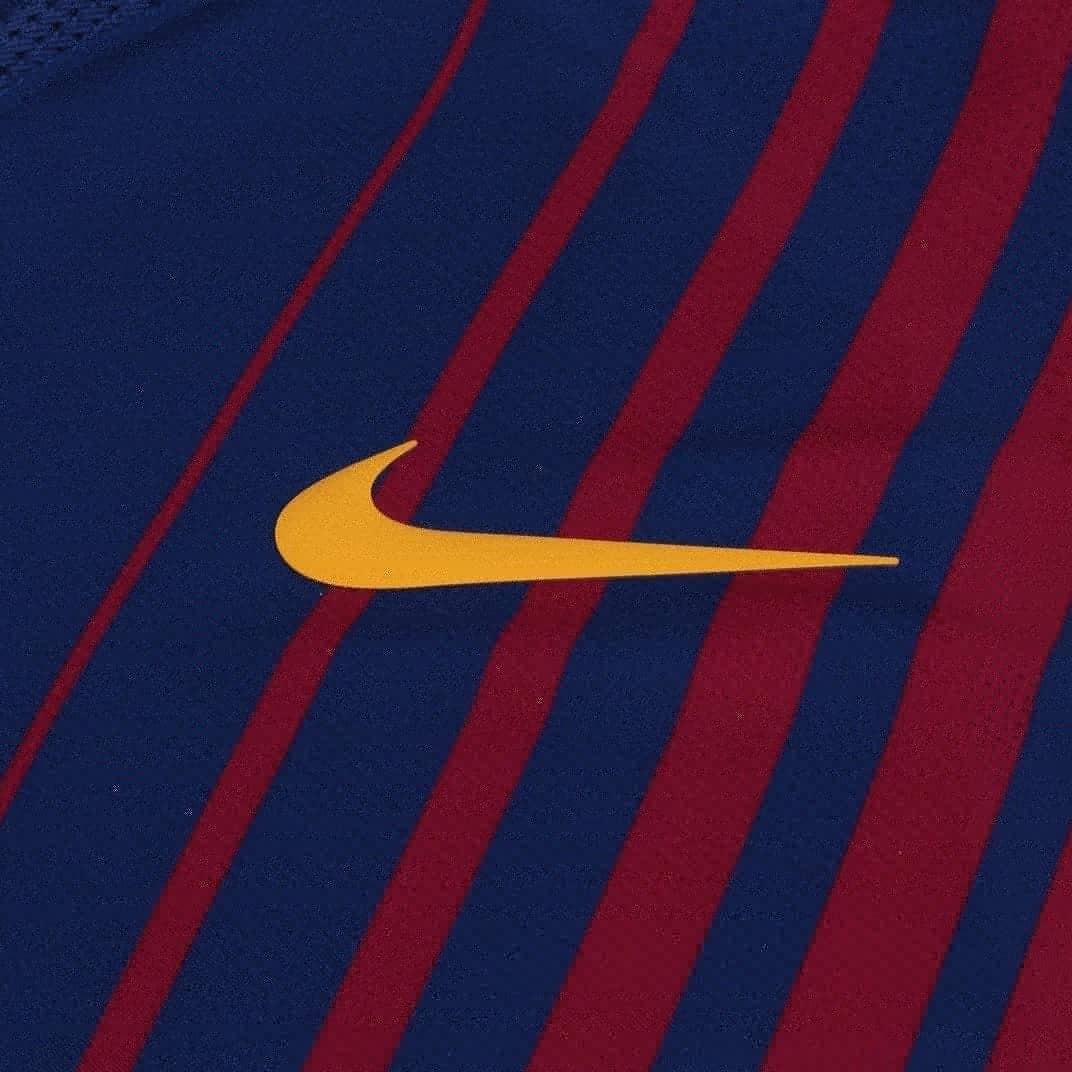 Camisa Nike Barcelona 1 Vapor 2017 2018 (jogador) Masculina - R  229 ... 35184227f93