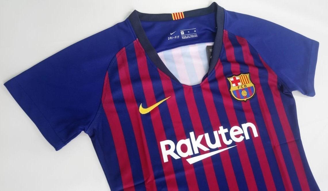 Camiseta Oficial Barcelona 2018- 2019 Mujer Original -   225.000 en ... b2ae17dade6