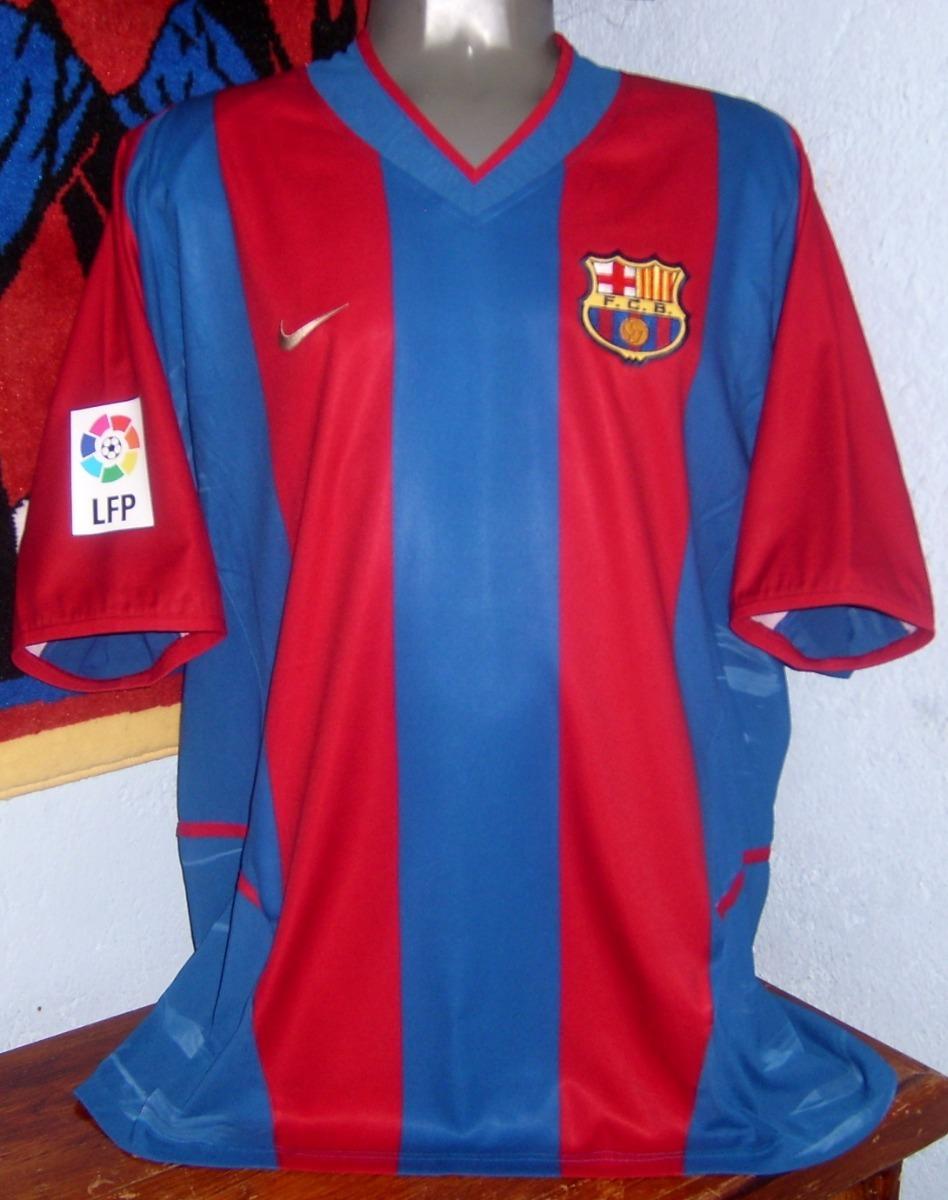 premium selection ba39e 04d8e Barcelona Nike 2002 Lfp Version Utileria Doble Tela Riquelme