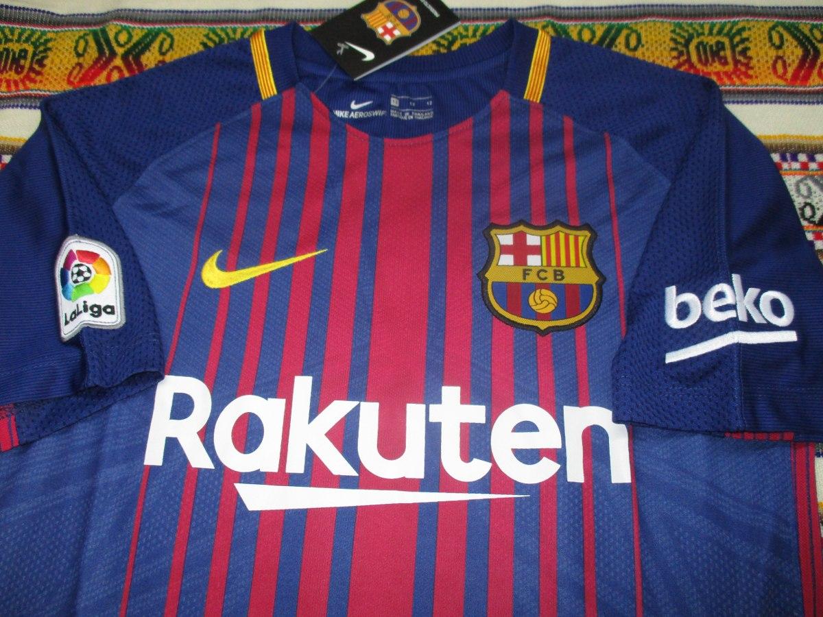 Cargando zoom... camiseta barcelona 2017-2018 niño 89e5270c69e