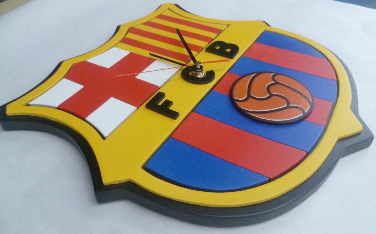 barcelona reloj de pared en madera