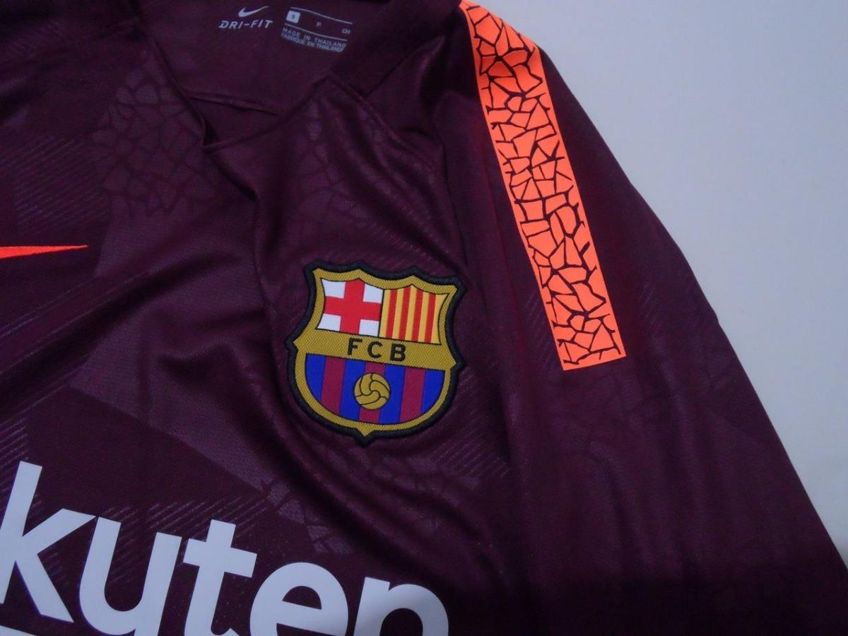 Cargando zoom... 2 jersey nike del barcelona original tercer uniforme 271b2509777f9