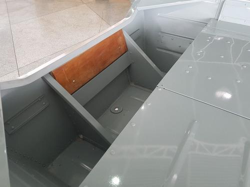 barco 5 metros com motor mercury 15 hp e carreta rodoviária