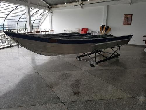 barco 6 metros com motor mercury 25 hp e carreta rodoviária