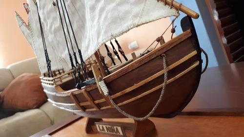 barco a escala la niña