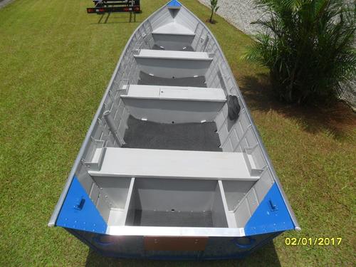 barco aluminio borda alta 6mts ok...super reforçado.