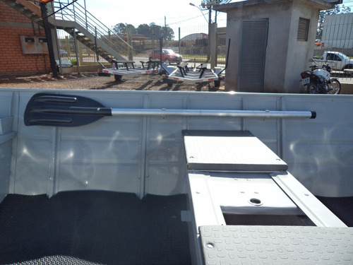 barco alumínio life 500 5metros  9.9 mercury + carretinha