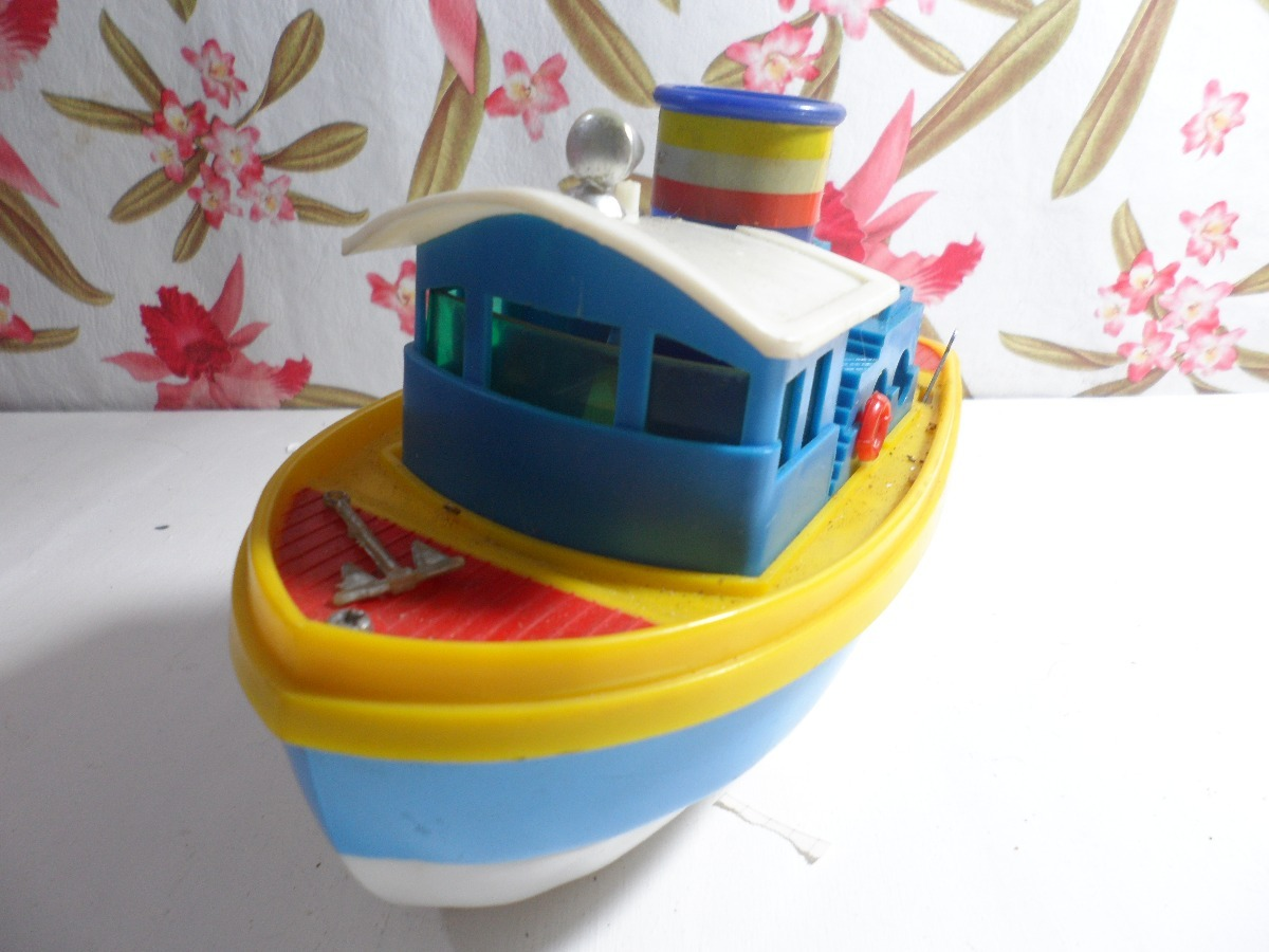 barco barquito de juguete retro vintage envios liniers mp 750 00