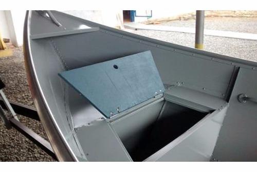 barco bateira alumínio macar 420 4,2 metros 0km