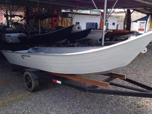 barco bateira aluminio macar 500 5 metros 0km novo