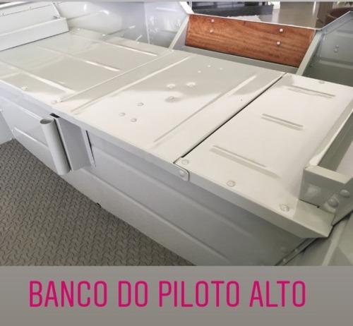 barco bateira aluminio pety brasil 600 6,00 metros 0km novo