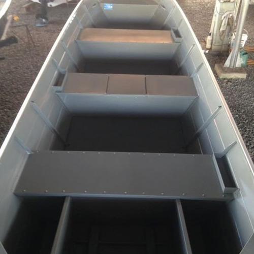 barco bateira bote alumínio macar 600 6 metros 0km 2017