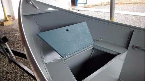 barco bateira bote alumínio macar 600 6 metros 0km novo