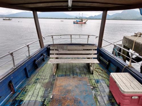 barco bote diesel