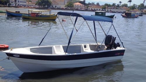 barco bote fibra vidro pesca 4.30 artsol borda alta fabrica